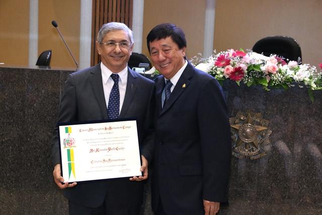 Dr. Everaldo Porto Cunha tornou-se um Cidadão São-Bernardense