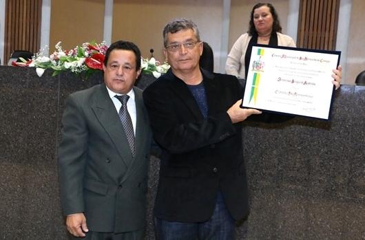 Câmara Municipal concedeu o título de Cidadão São-Bernardense a Francisco Sérgio de Andrade